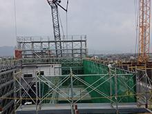 市民会館新築工事