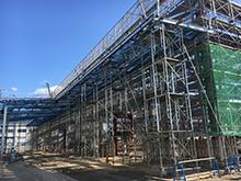 多目的工場新築工事