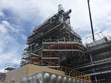 発電所新築工事